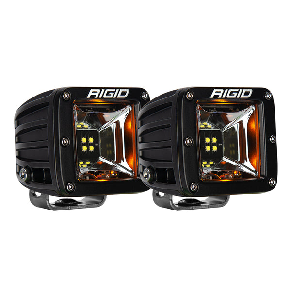 Rigid Industries | Radiance LED Pod Scene Light | Amber Backlight | Set of 2 | 68204