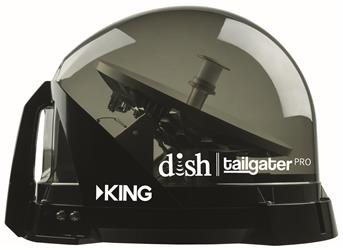 KING | DTP4900 DISH Tailgater Pro | Premium Portable/Roof Mountable Satellite TV Antenna
