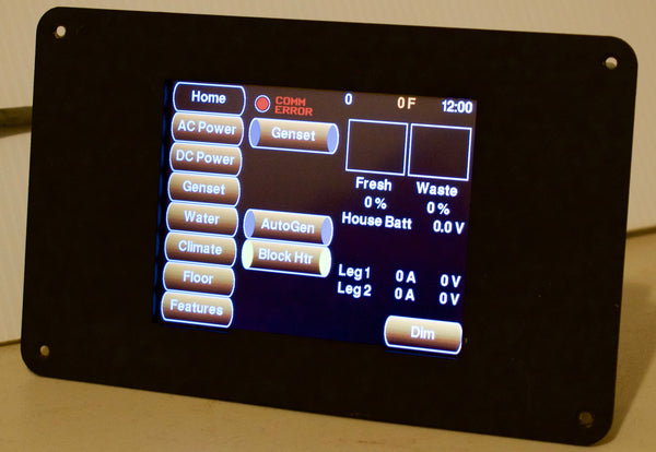 Silverleaf Electronics HMS-365 Touchscreen House Monitor