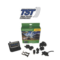 TST Tire Pressure Monitoring System | 507 Series | 4 Flow Thru Sensor TPMS System with Color Display | TST-507-FT-4-C