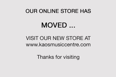 OUR ONLINE STORE HAS MOVED