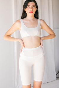 Angie Bauer | Amari Bra Top In Alabaster
