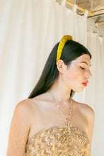 Load image into Gallery viewer, No Wallflower Project | Chartreuse Ruffle Headband