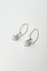 Sphere Fish Hook Earrings
