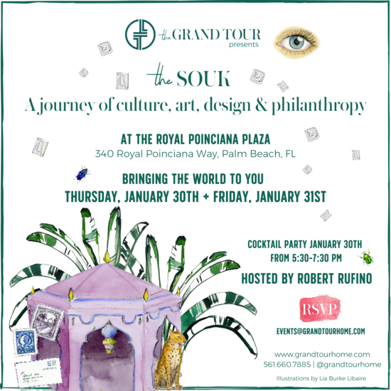 The Souk: A Journey of Culture, Art, Design & Philanthropy, January 30th & 31st