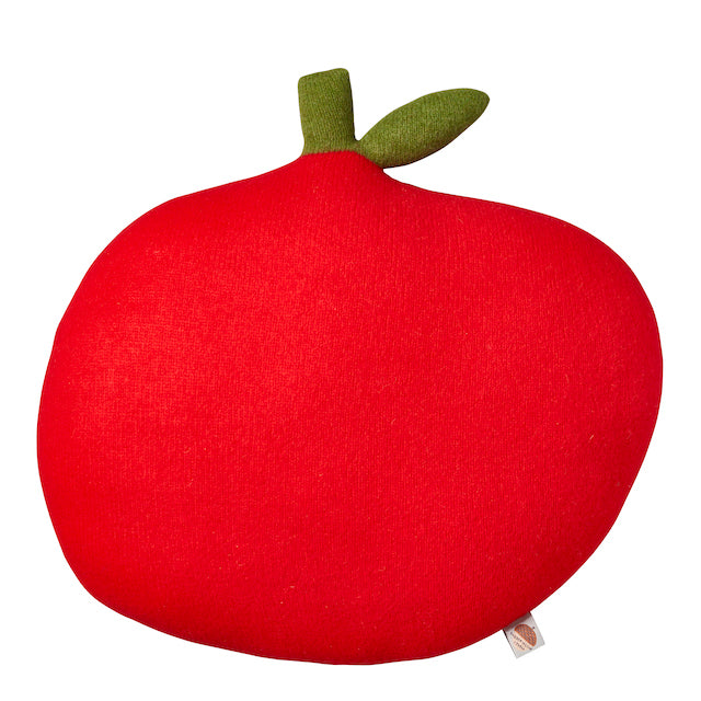 Apple Cushion Red
