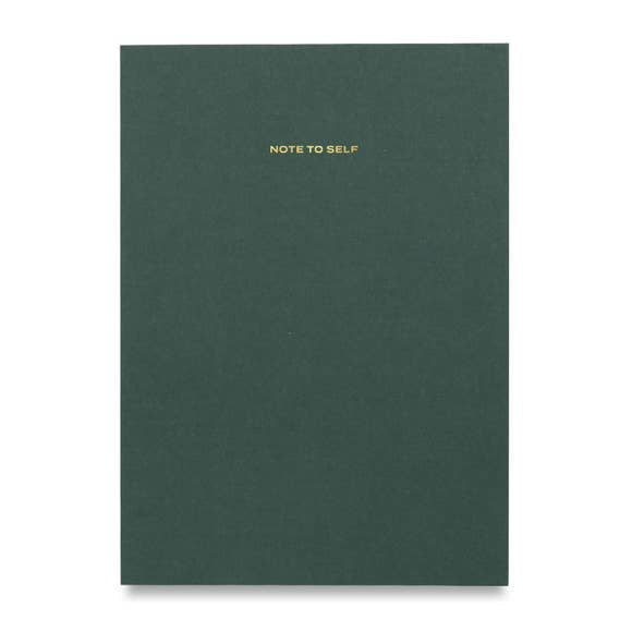 Note To Self Journal - Green