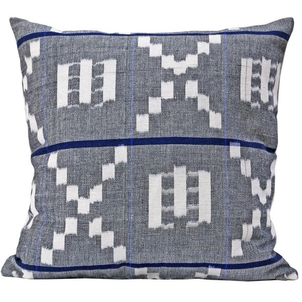 Kufri Takamaka Pillow -  Grey & Blue