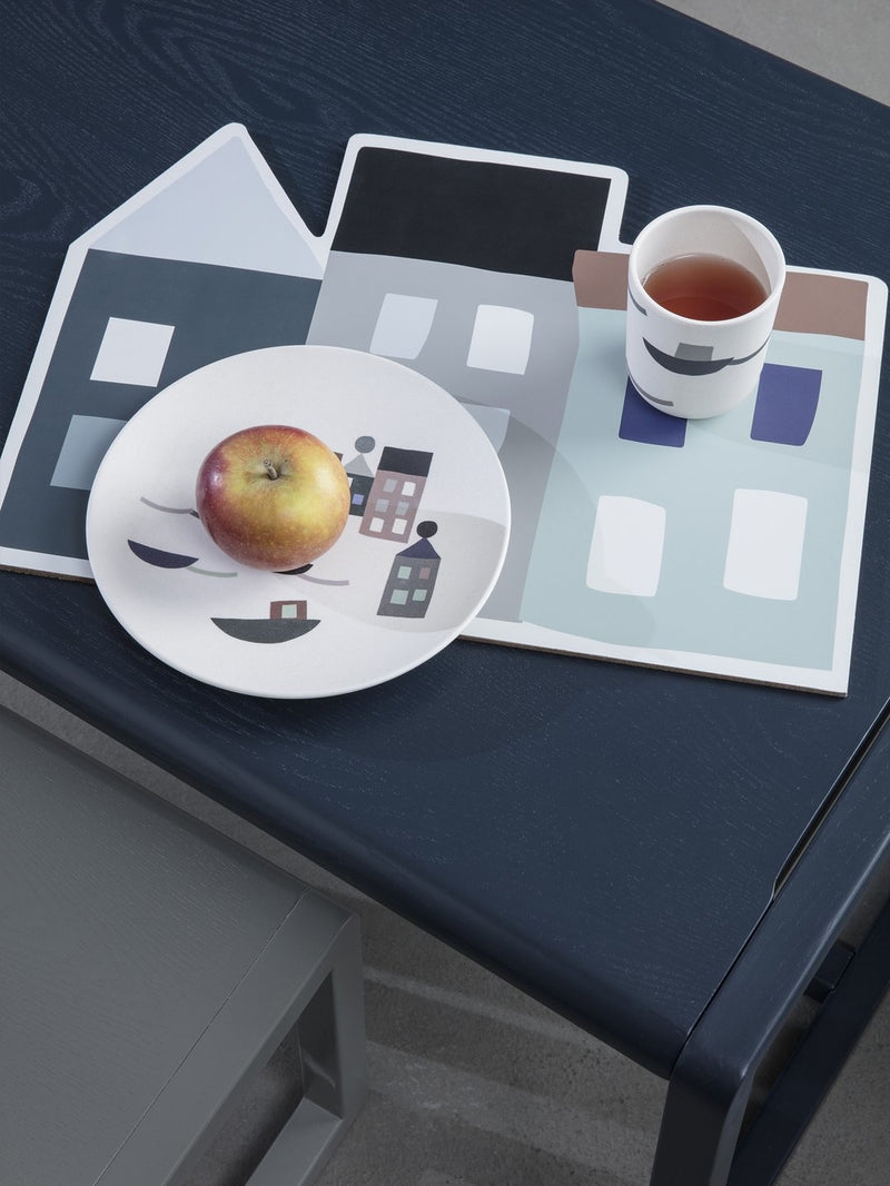 Ferm Living Little Architect Table - Dark Blue