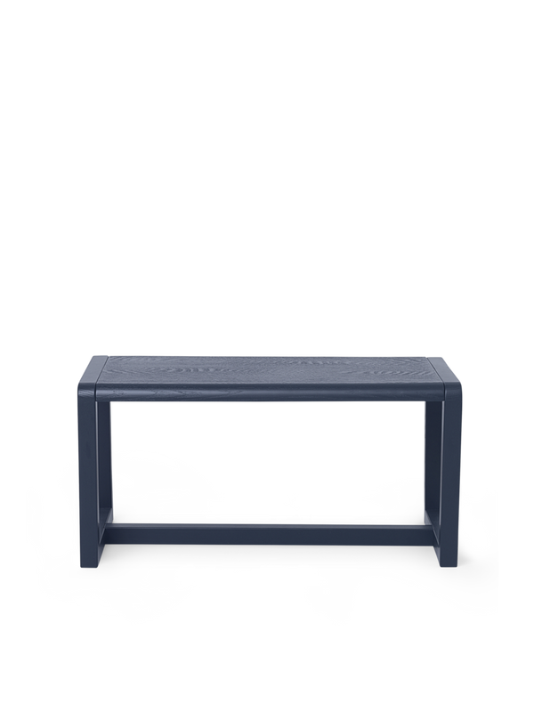 Ferm Living Little Architect Bench - Dark Blue