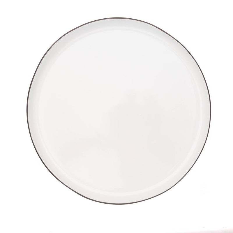 Abbesses Plate Large-Black