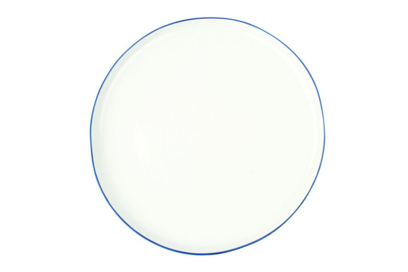 Abbesses Plate Large-Blue
