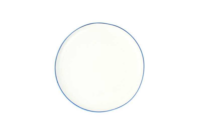 Abbesses Plate Medium-Blue