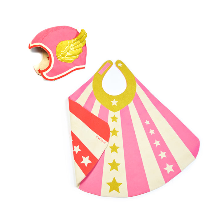 Pink Flying Super Hero Set