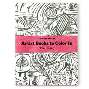Color-In Book: Tim Biskup