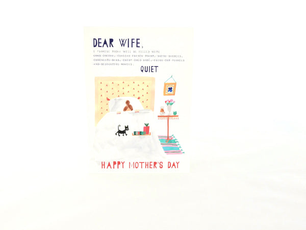Dear Wife Card