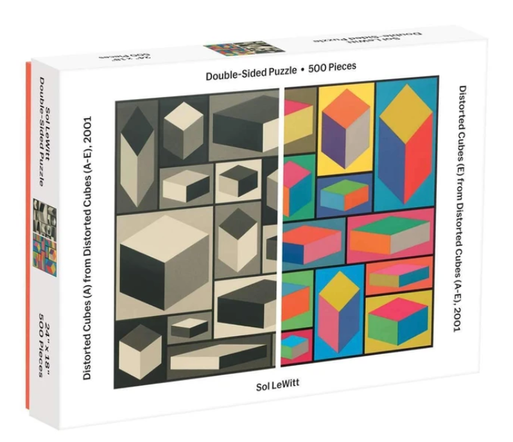 MoMA Sol Lewitt 2-Sided 500 Piece Puzzle