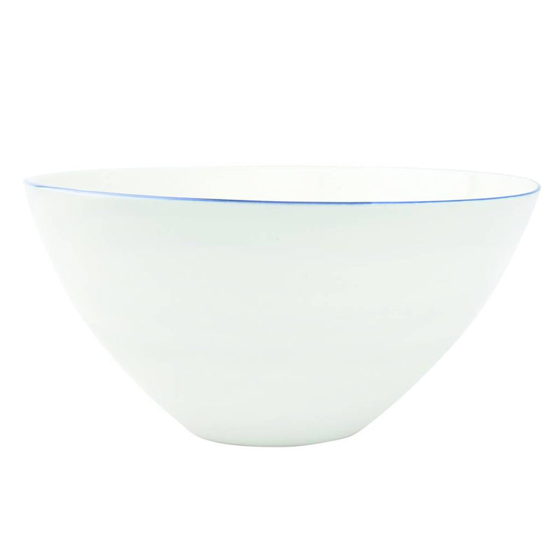 Abbesses Large Bowl Blue Rim - Set of 2