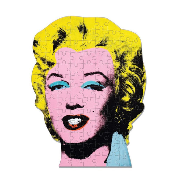 Andy Warhol Mini Shaped Jigsaw Puzzle Marilyn