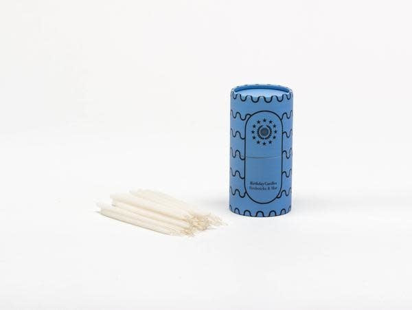Paper Tube: 40 Birthday Candles