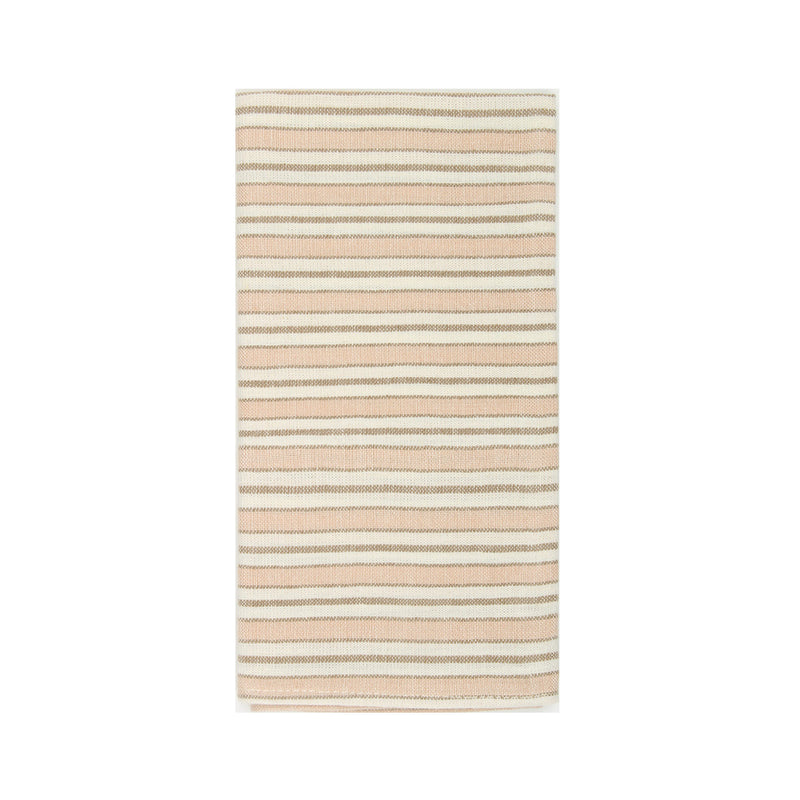 Multi Stripe Blush Napkins