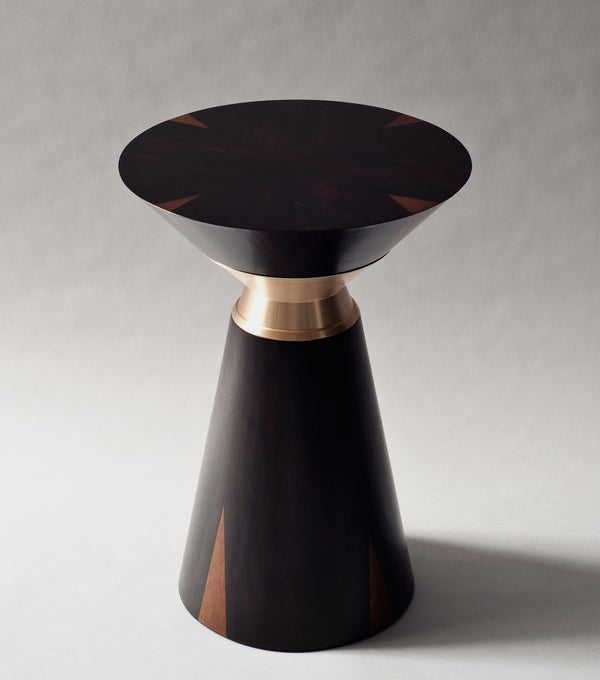 Bolo Side Table in Ziricote