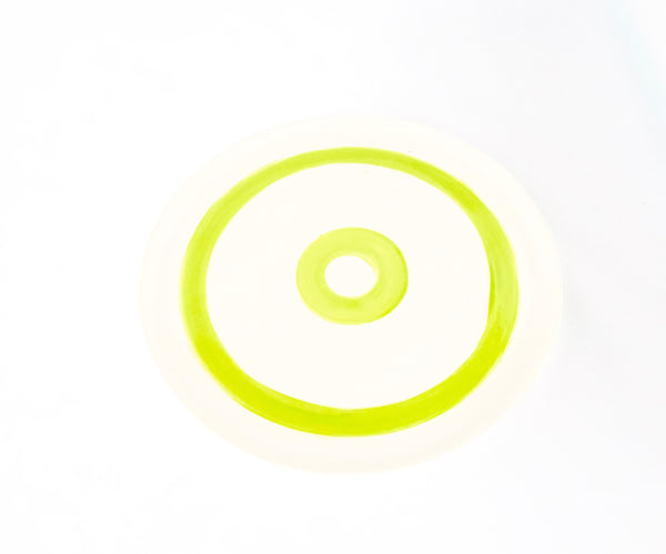 Circle Plate Chartreuse | 10""