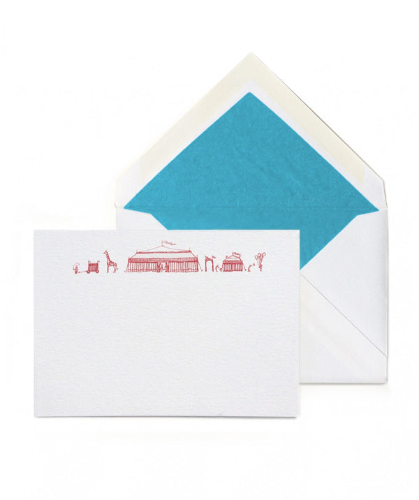 Circus Tents Notecards, Set of 10