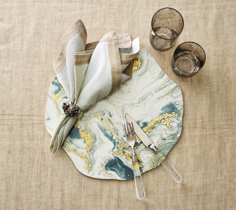 Cosmos Placemat Ivory