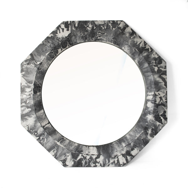 Athena Mirror | Oracle -  Black and White