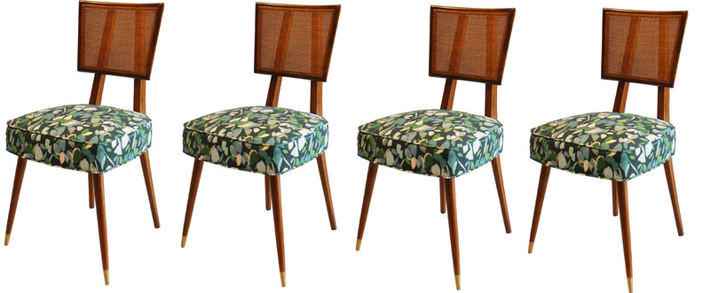 Midcentury Dining Chairs in the Manner of Dunbar (Set of 6)