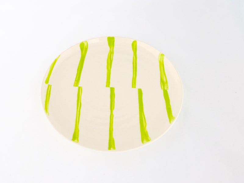 Fault Plate Chartreuse | 8""