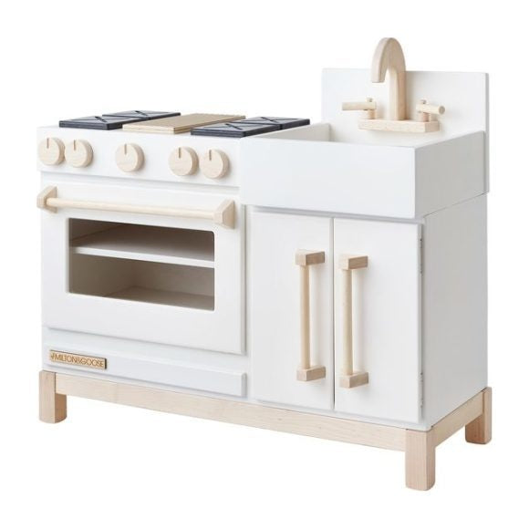 Milton & Goose Essential Play Kitchen, White