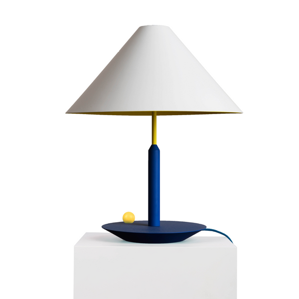Little Eliah Table Lamp Blue Deep Yellow Chick