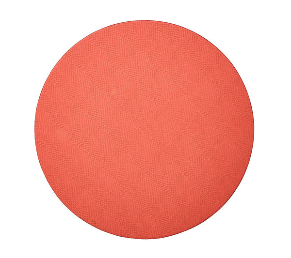 Viper Reversible Placemats in Coral & Salmon