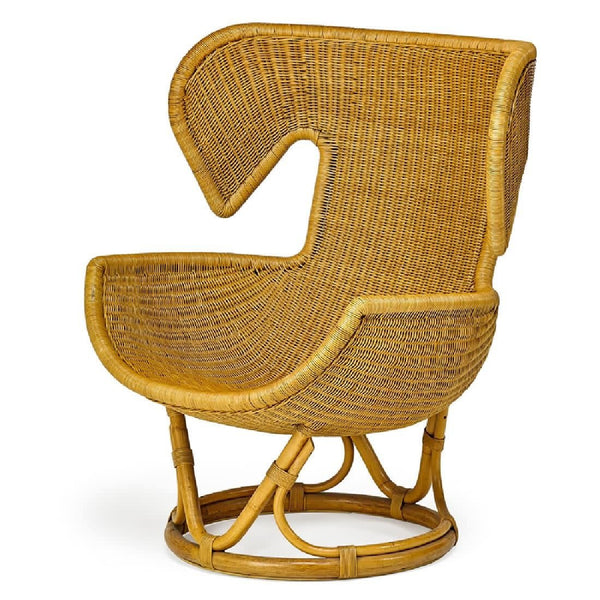 Salvatore Fiume Rattan Lounge chair