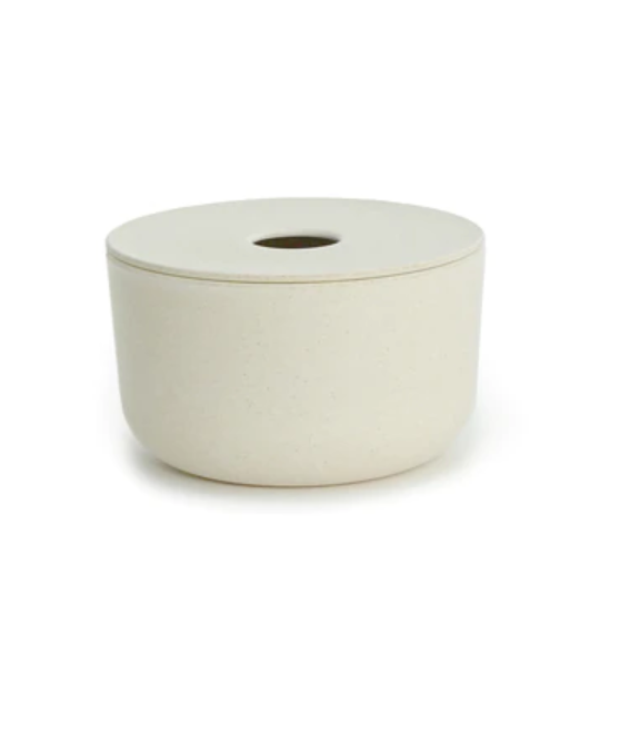 Bano Small Storage Box - White