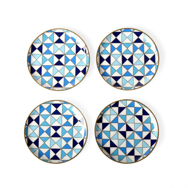 Sorrento Blue Coasters