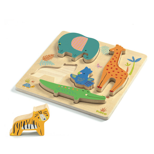 Woody Jungle Puzzle