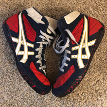 Load image into Gallery viewer, RWB Asics Aggressor Wrestling Shoes