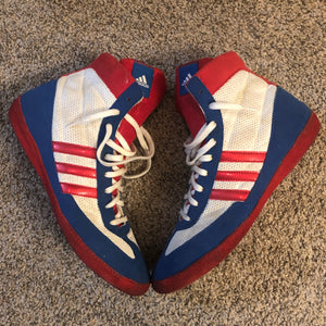 RWB Adidas Combat Speed 4 Wrestling Shoes
