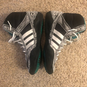 Black Adidas Elite International Wrestling Shoes