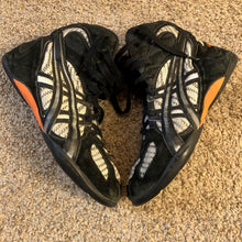 Load image into Gallery viewer, Zebra Asics Medalist Wrestling Shoes