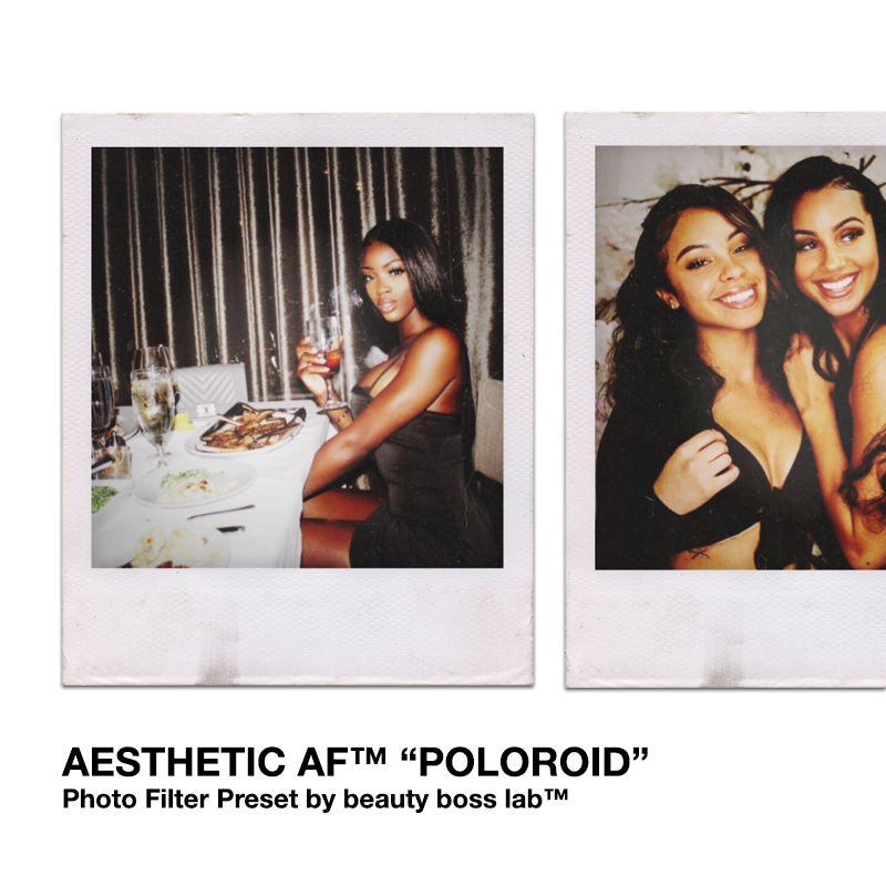 "Aesthetic AF ""Poloroid"""