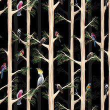 Load image into Gallery viewer, Birds of the Bush Among the Gums Black