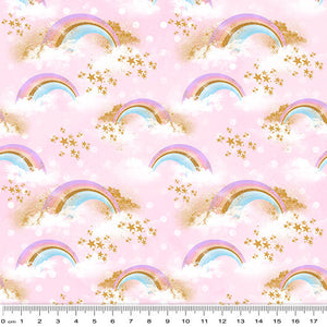 Rainbow Unicorn Radiant Rainbows Pink