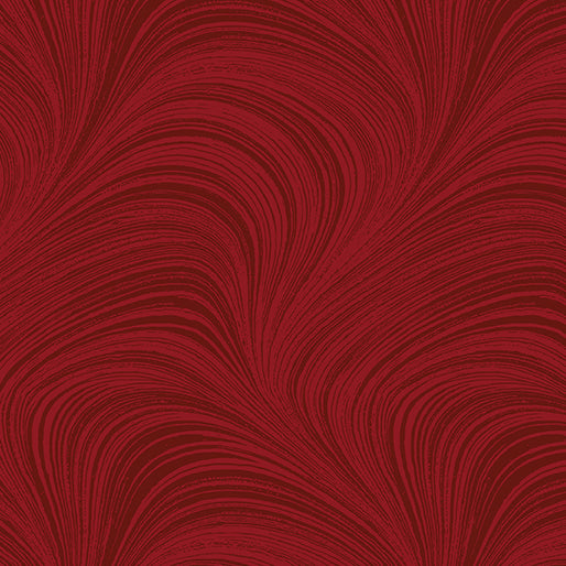 Wave Texture Medium Red