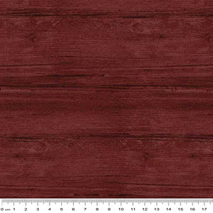 Washed Wood Wide Backing Claret