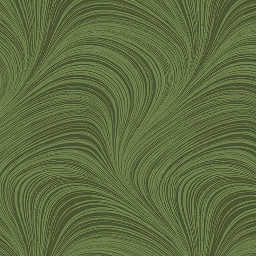 Wave Texture Medium Green