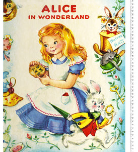 Story Time Alice in Wonderland Panel